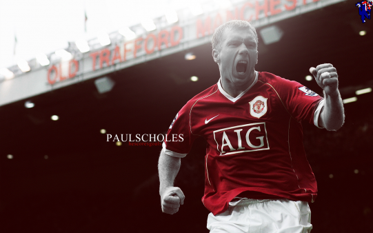 Paul Scholes wallpaper Manchester United