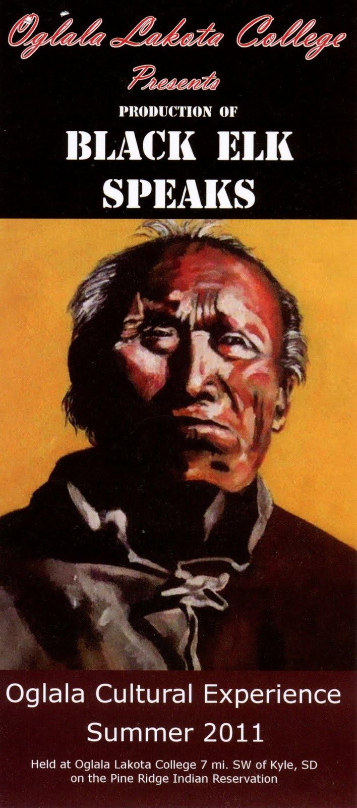 an analysis of the play black elk speaks Black elk speaks, the story of the oglala lakota visionary and healer nicholas  black elk (1863–1950) and his people during momentous.