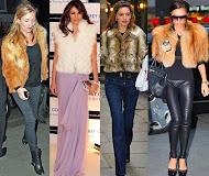 Moda İkonlarının Kürk Kombinleri
