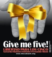 Obama ¡Give me FIVE!