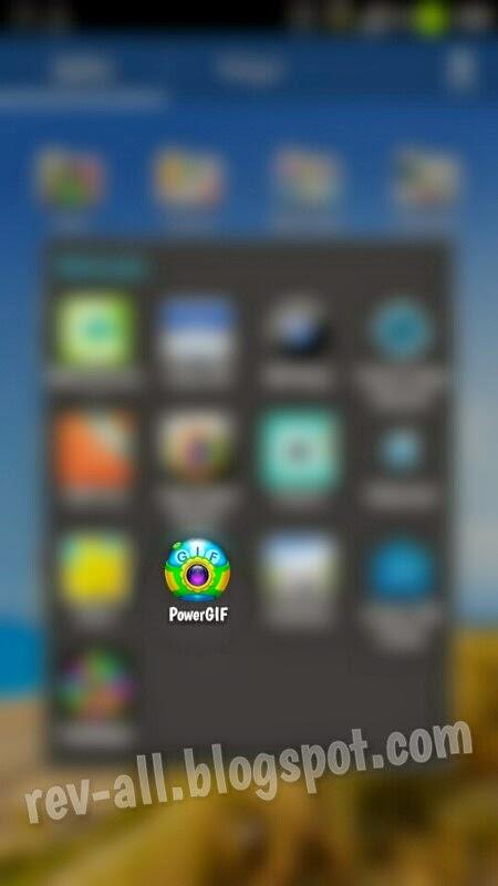 Ikon Power Gif - aplikasi pembuat animasi gerak gif dari kamera dan galeri android (rev-all.blogspot.com)