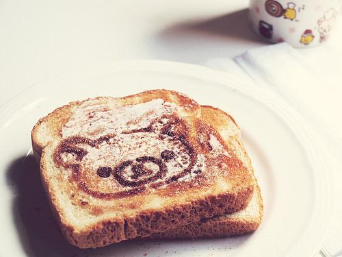 Morning and with a bear милое утро и с мишкой
