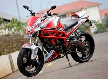 Honda Tiger Modifikasi Streetfighter