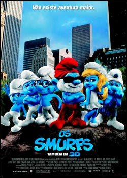 Download - Os Smurfs DVDRip - AVI - Dublado