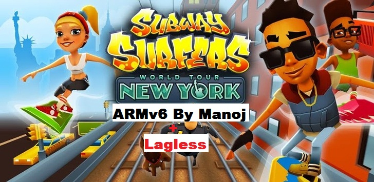 Subway Surfers v1.6.0 Lagless ARMv6 By Manoj  Galaxy Y Gaming Arena