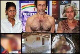 Família acusados de canibalismo em Pernambuco alega problemas mentais