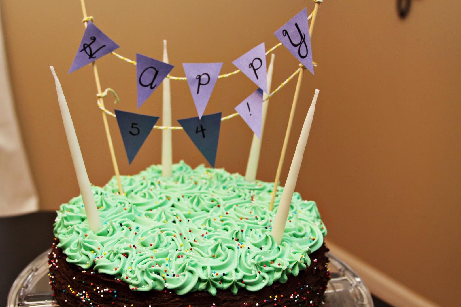 Casa De Luna Creations Dads Birthday Cake