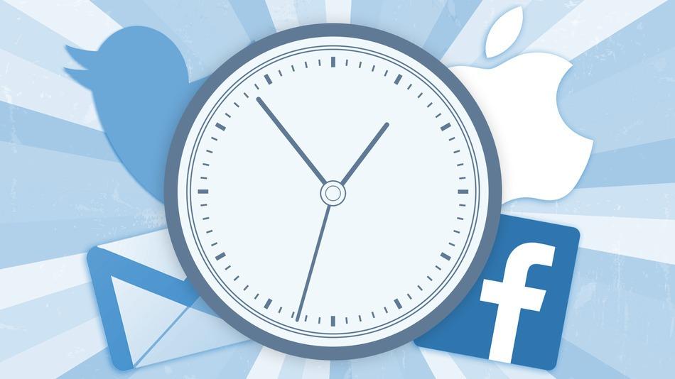 60 seconds on Facebook, Twitter, Google, Skype, Flickr, Snapchat, LinkedIn, Instagram, Tumblr, Vine, YouTube and Pinterest - infographic