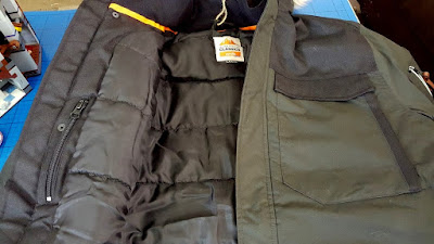 Classic Mens Parka Jacket with hood
