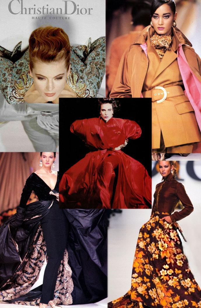 Gianfranco Ferre designs for Christian Dior