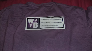 Back of T-shirt