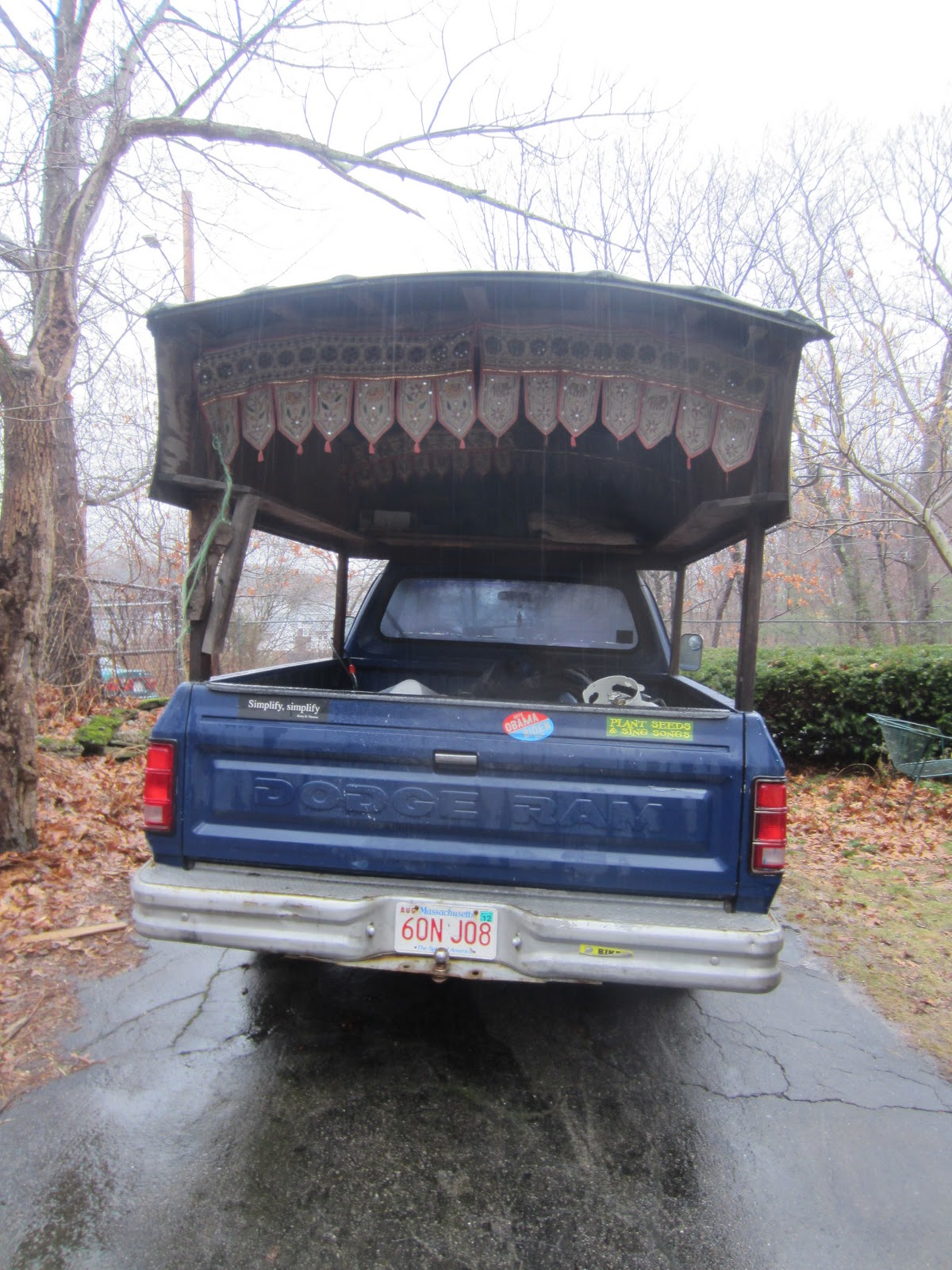 Tiny Truck Relaxshackscom Sage Radachowskys Turtle Domed Camping Truck