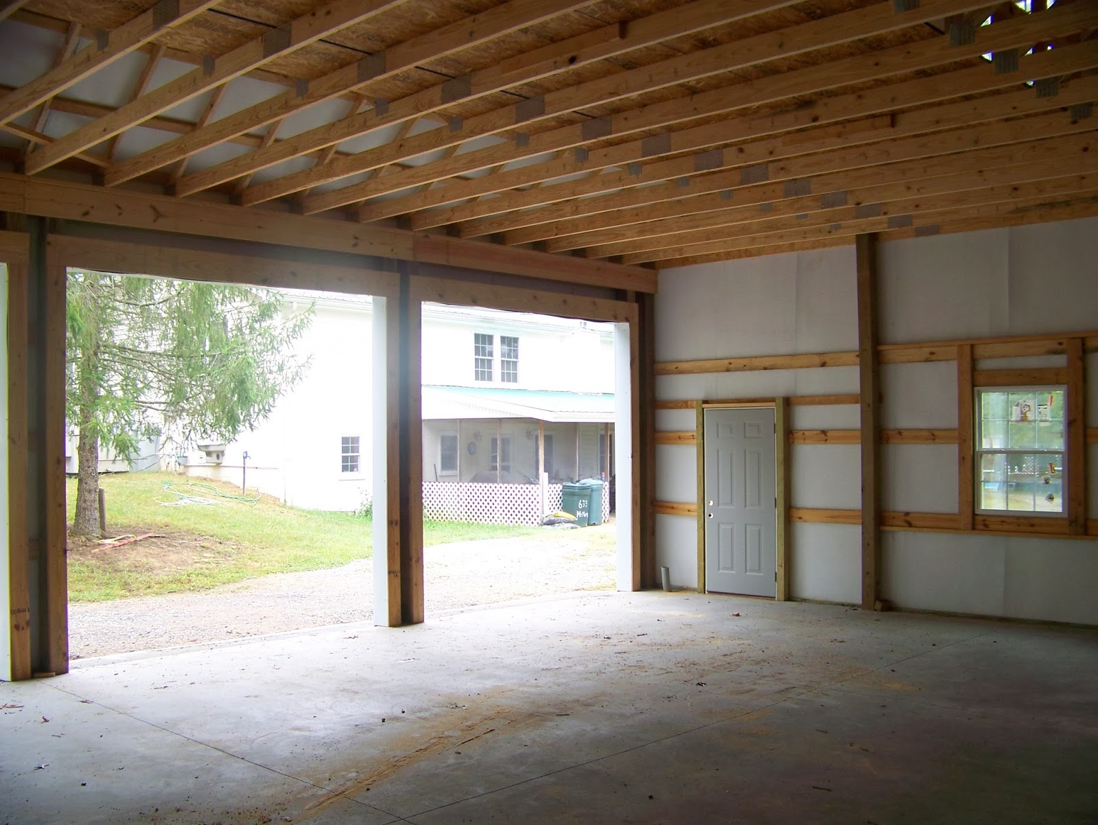 Smith steel supplies barns for 30x36 garage