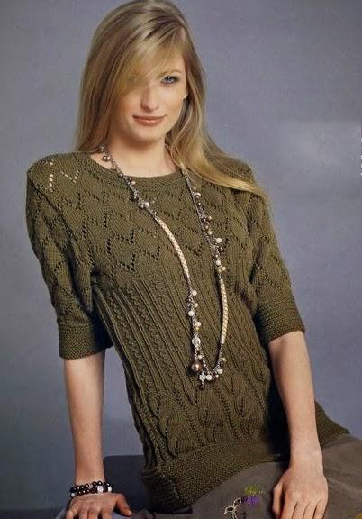 Модели Вязаных Женских Пуловеров С Доставкой