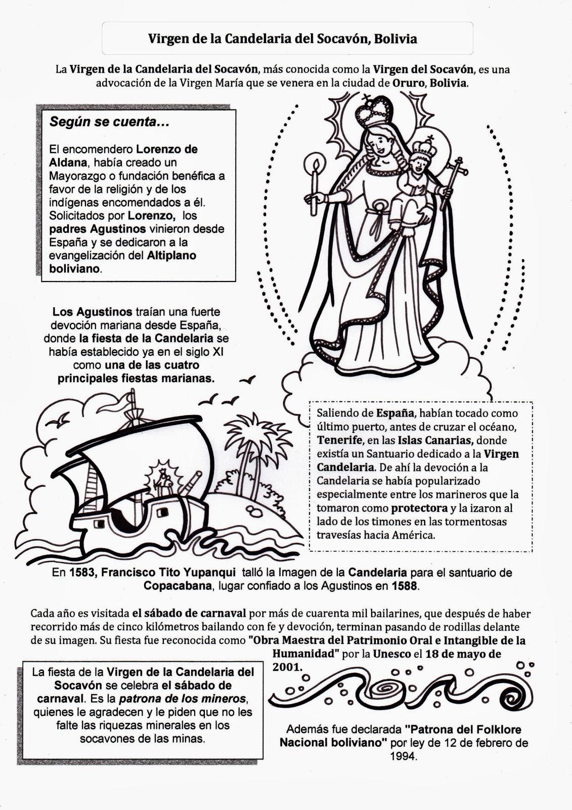 El Rincón de las Melli: Virgen de la Candelaria del Socavón, Bolivia
