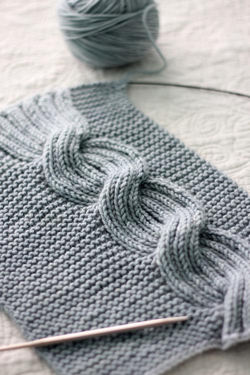 Knitting Inspiration Tumblr : Pom knit knitting inspiration