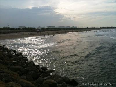 pantai rancung aceh menanti senja