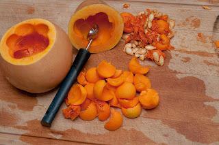 Суп- пюре из тыквы (Пошаговый рецепт)