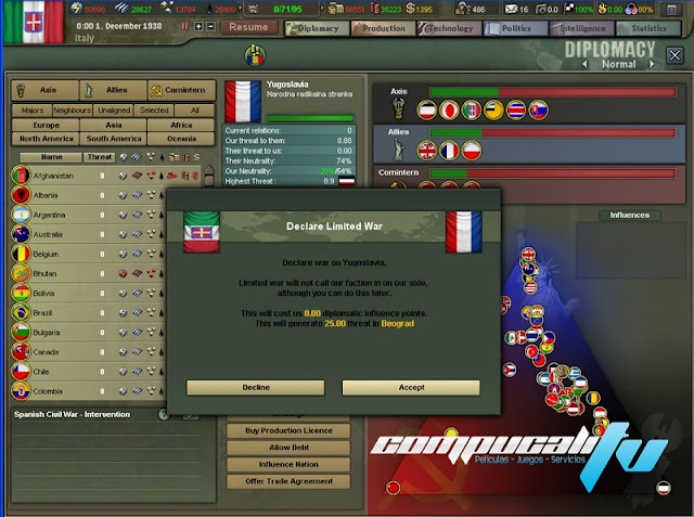 Hearts of Iron 3 Collection PC Full