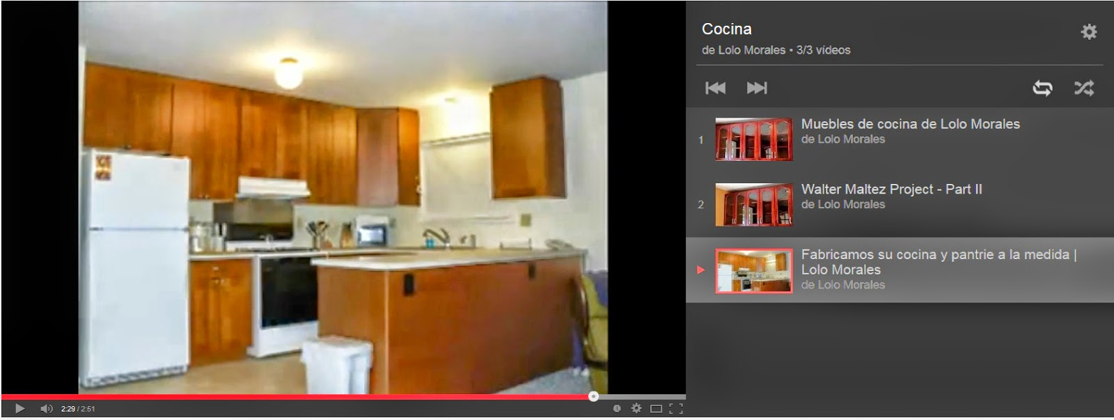 Cocinas Lolo Morales Furniture Videos # Muebles Lolo Morales