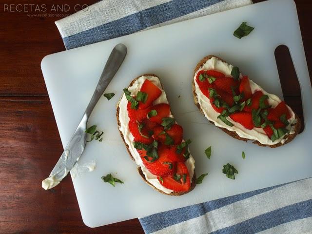 Receta vegetariana desayuno