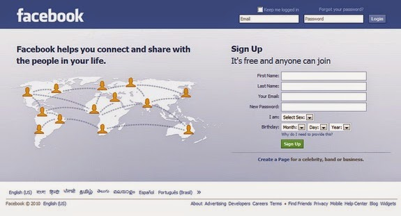 facebook login deutschland