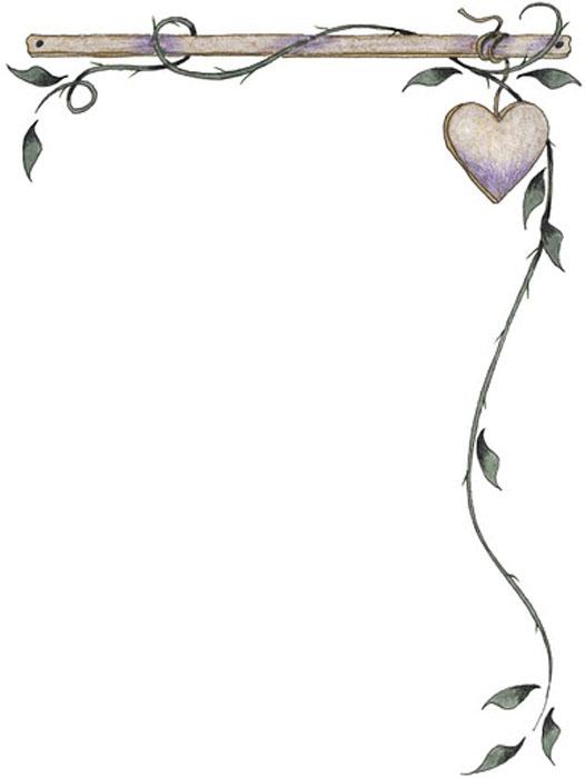 Margenes para hojas de amor - Imagui