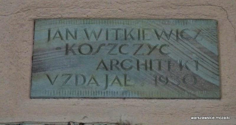 architekt Koszczyc Witkiewicz
