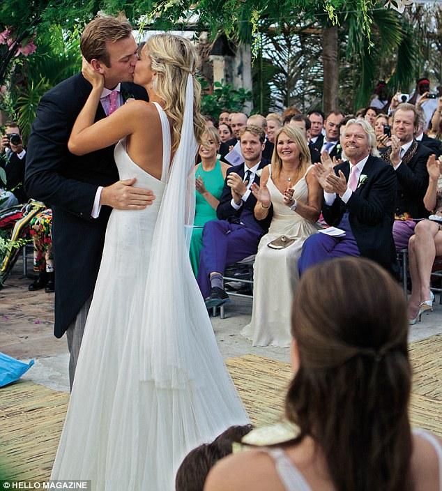 Richard branson royal wedding