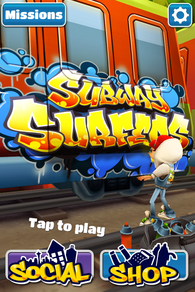 Playing Subway Surf