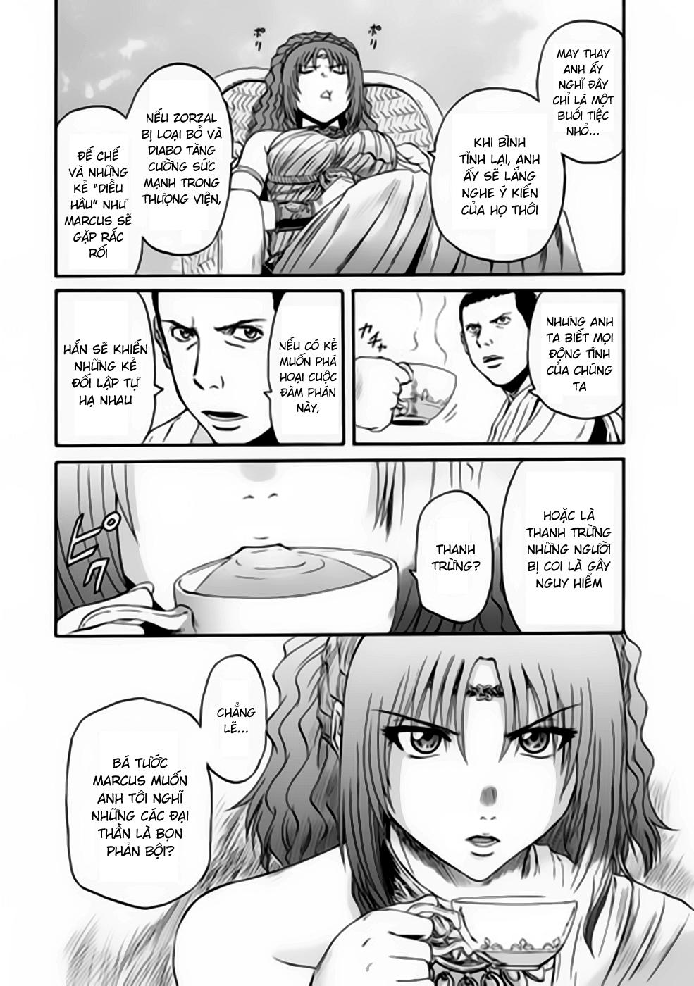 Gate – Jietai Kare no Chi nite, Kaku Tatakeri chap 31 Trang 22 - Mangak.info