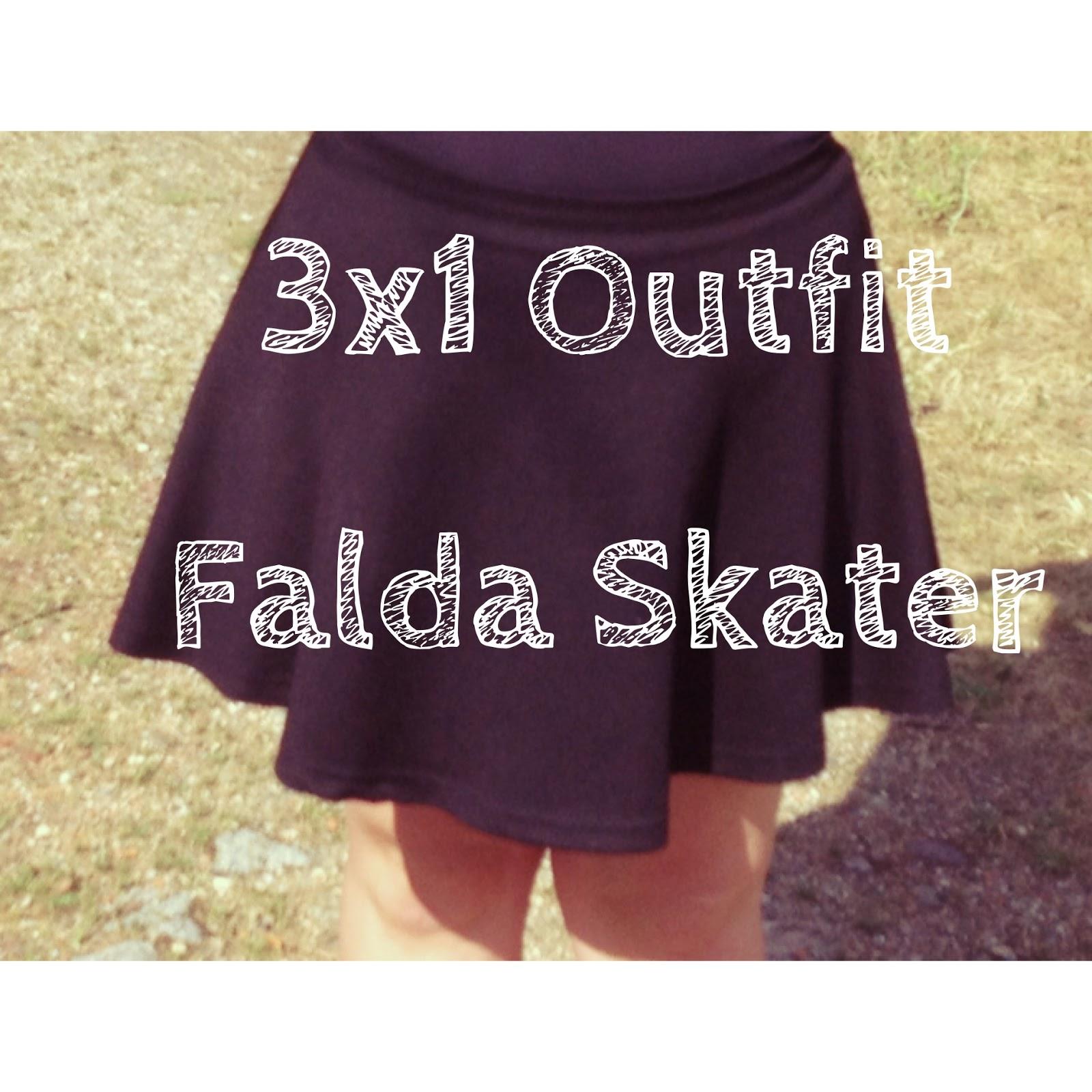 Falda Skater