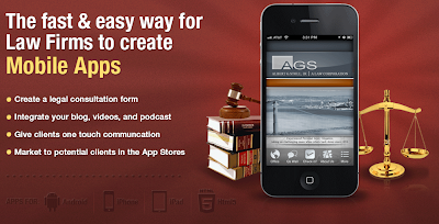 Mobile apps for law firms, from Dovetanet marketing