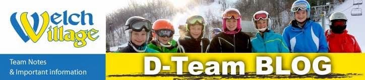 Welch Village D-Team Blog