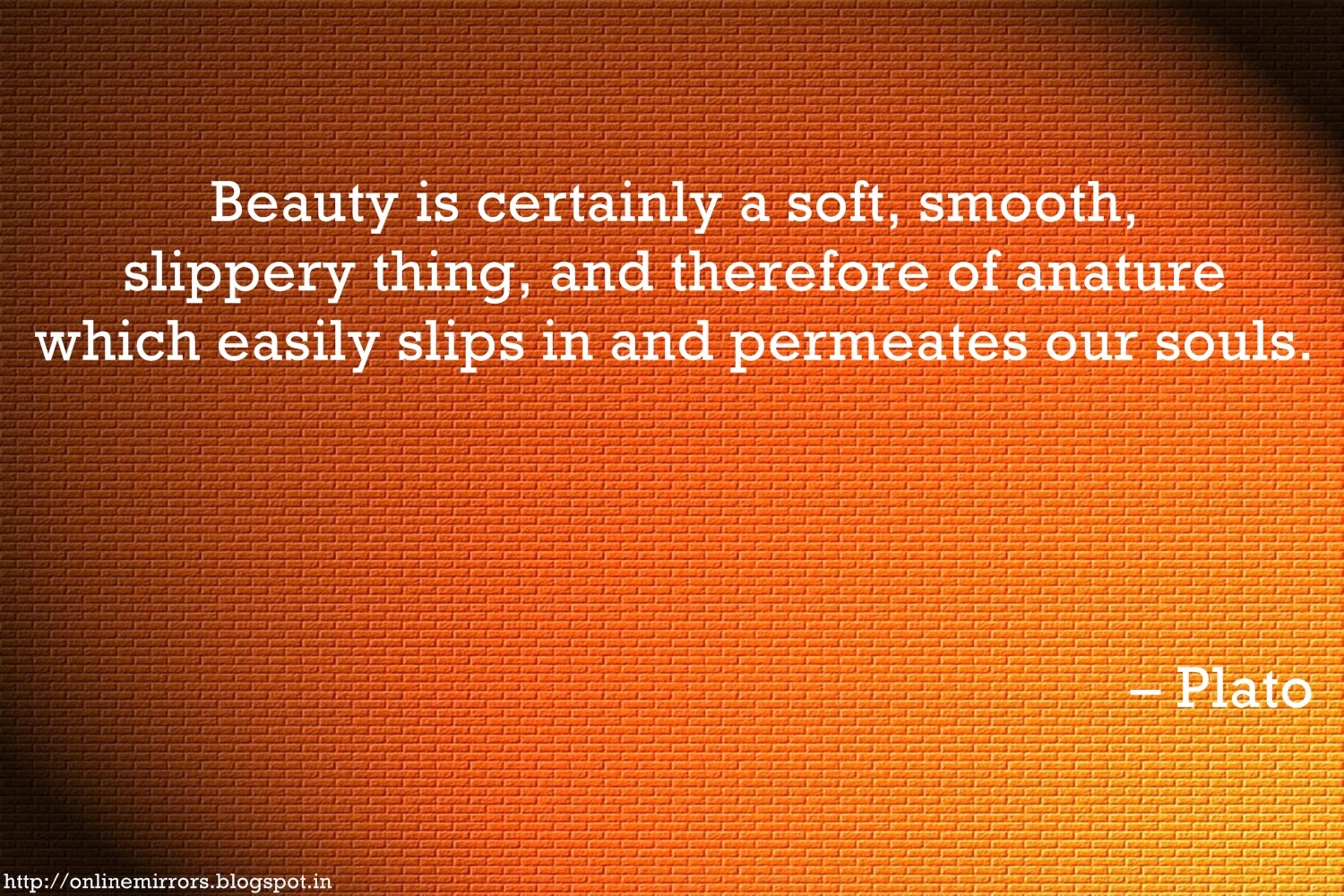 Plato Quotes Beauty Beauty of Nature Quotes