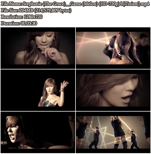 Download MV Stephanie (The Grace/CSJH) - Game (Melon HD 720p)