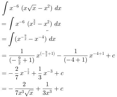 Integral Tak Tentu Belajar Matematika Online