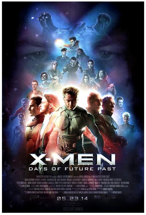 X-Men: Días del futuro pasado póster