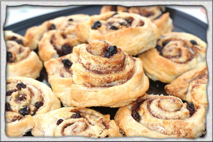 Brown Sugar And Walnut Puff Pastry Swirls Recipes — Dishmaps