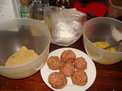 making scotch eggs