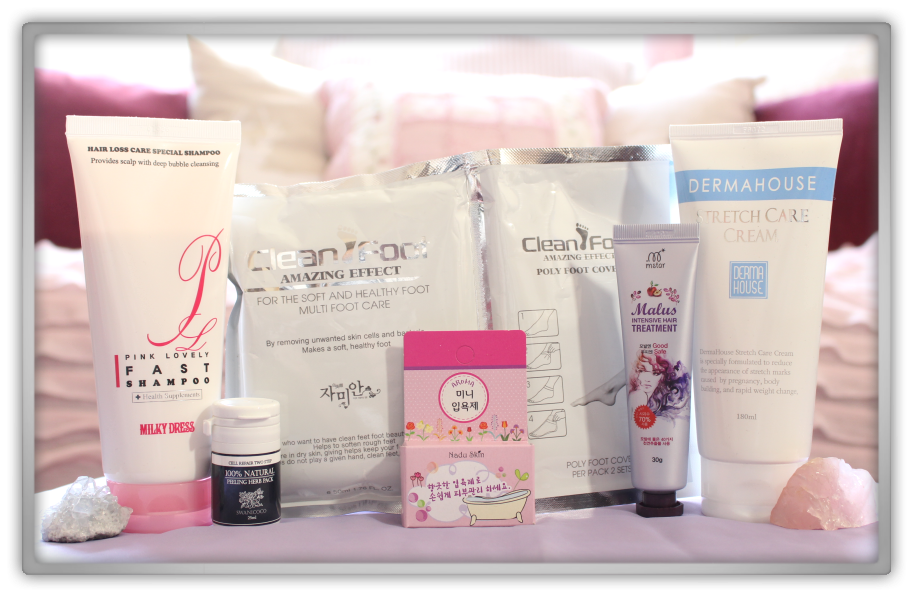 겟잇뷰티박스 by 미미박스 memebox beautybox special #49 Hair &body 4 Spa Edition unboxing review look inside