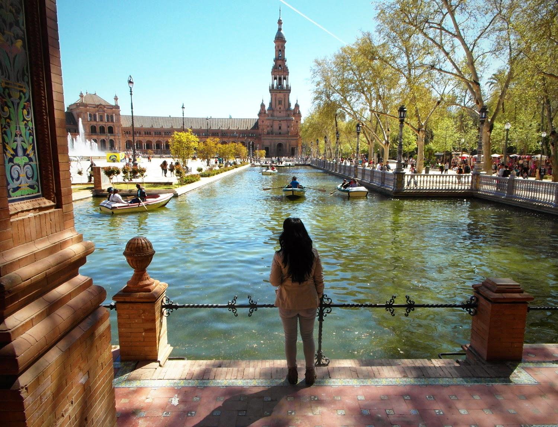 Plaza+de+España+Sevilla