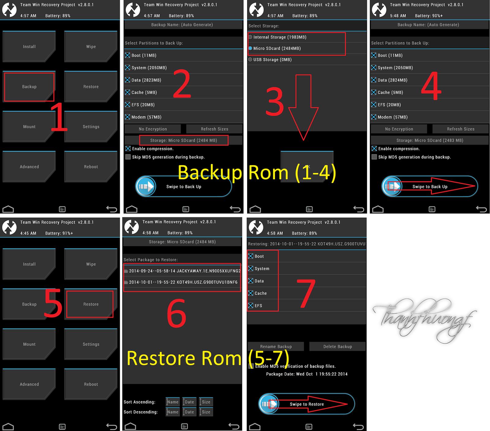 Team win recovery project как сделать хард ресет