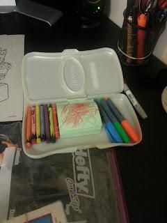 Crayon Carry Case