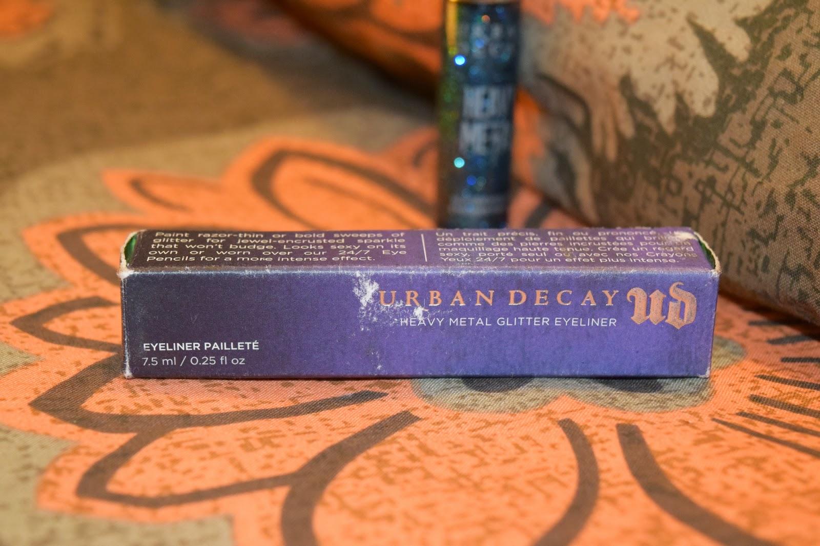 Heavy Metal Glitter Eyeliner in Spandex by Urban Decay