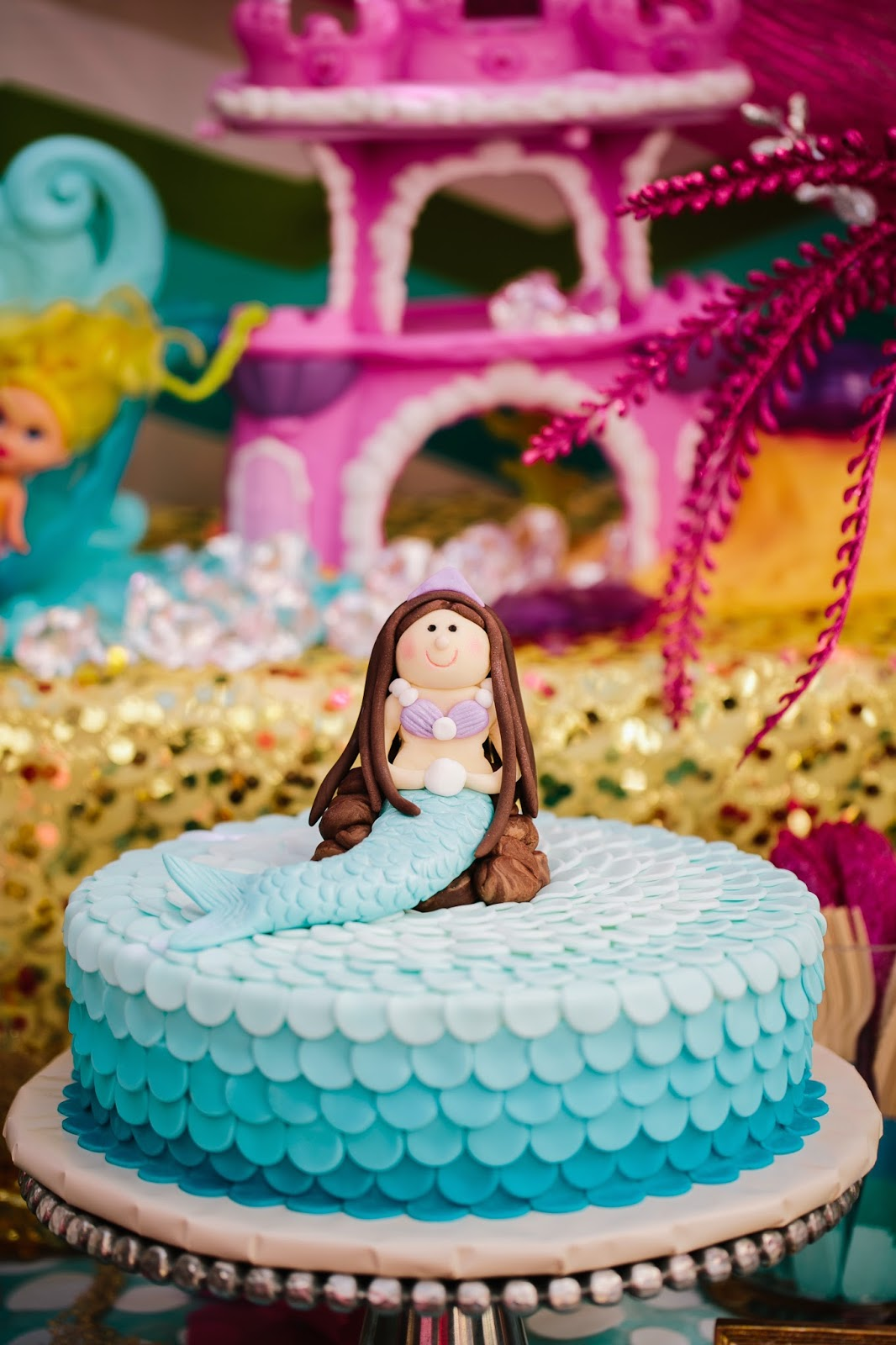 Miss Party Mom Client Dessert Table Riley S Mermaid 4th