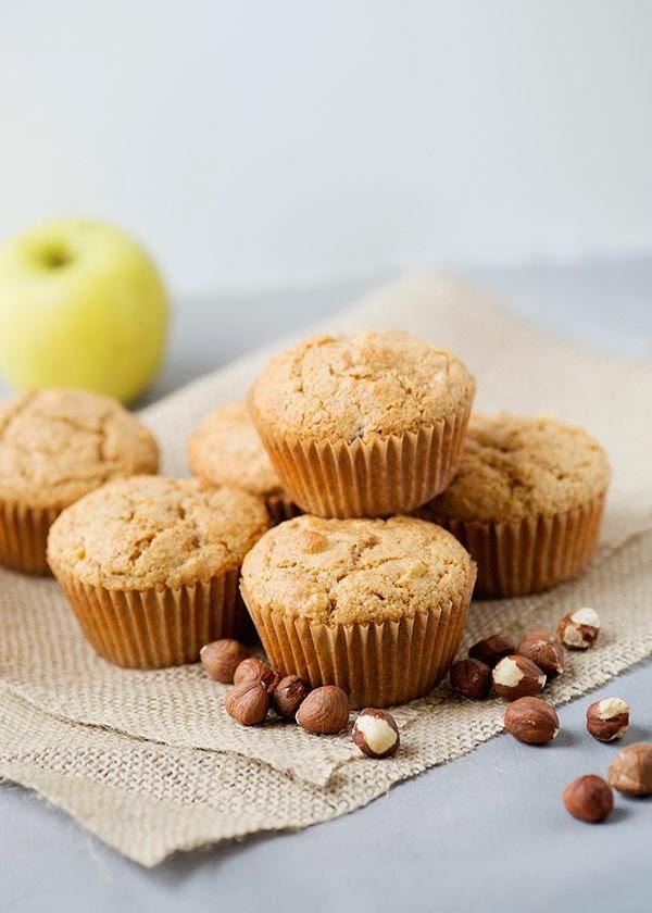 muffins alle nocciole / hazelnuts muffins recipe