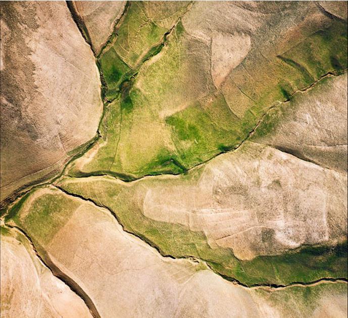 عکس هوایی قدیمی از منطقه دماوند