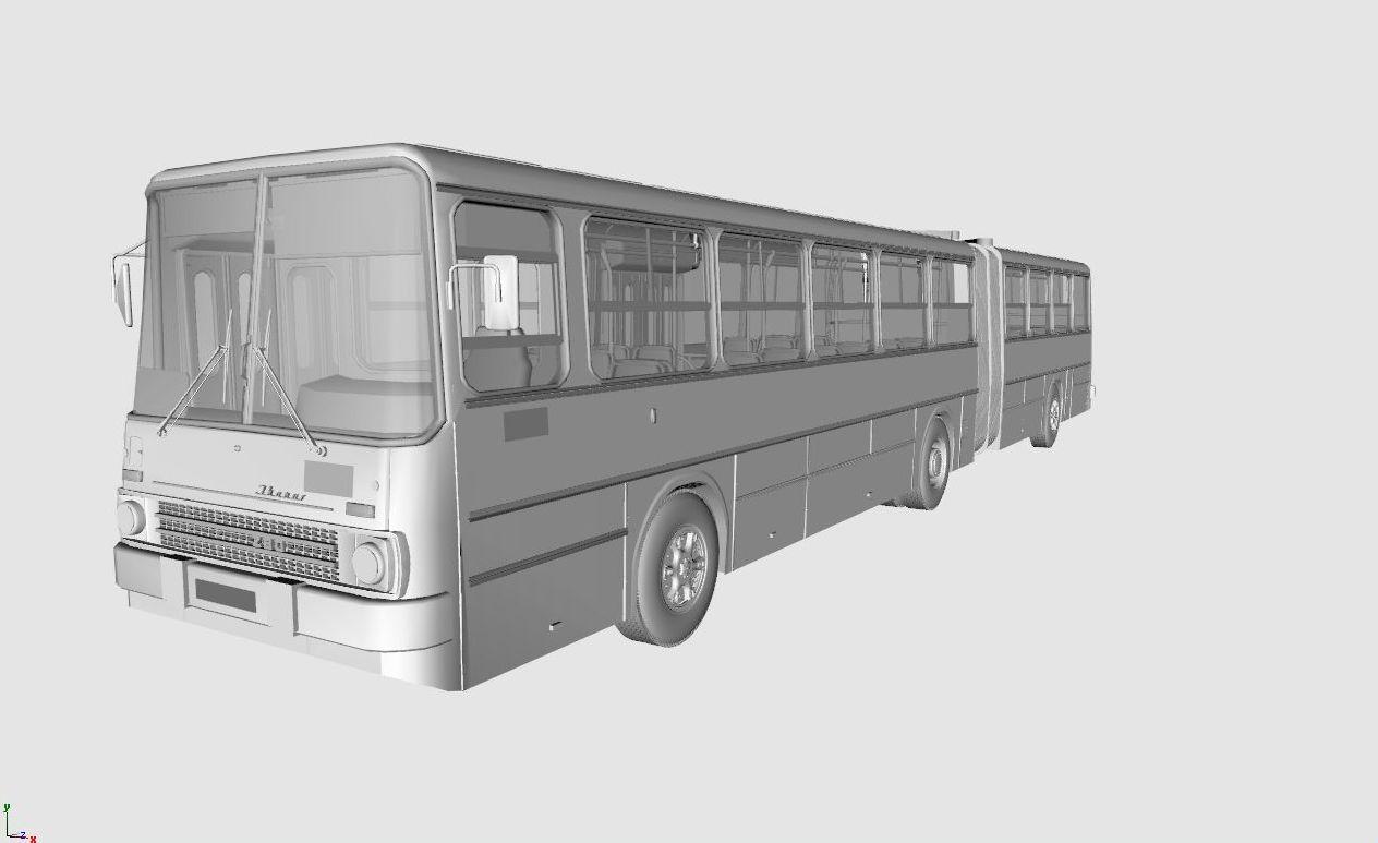 3d modeling blog wip ikarus 280 bus. Black Bedroom Furniture Sets. Home Design Ideas