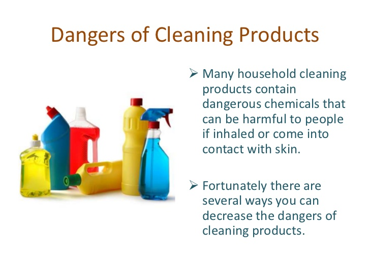 dangerous household cleaning products